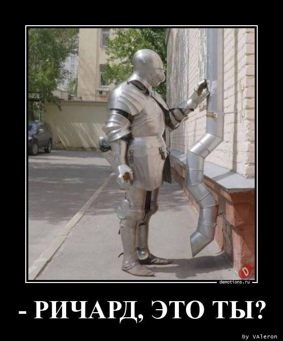 - РИЧАРД, ЭТО ТЫ?